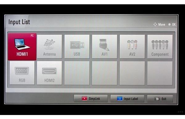 HDMI на телевизоре