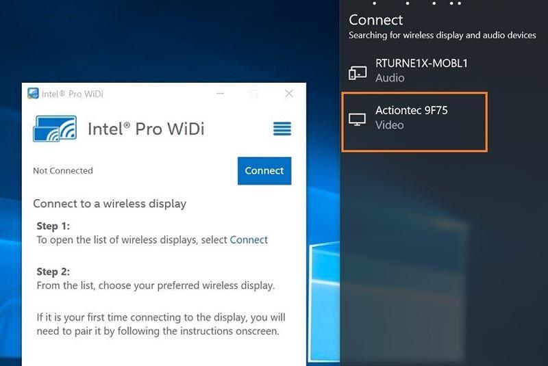 Включение Проектора в Windows