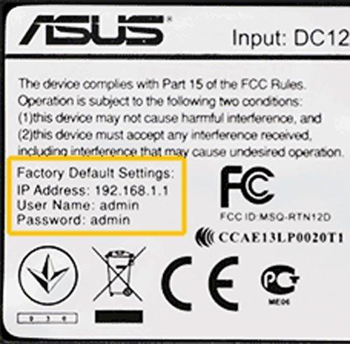 Наклейка Asus