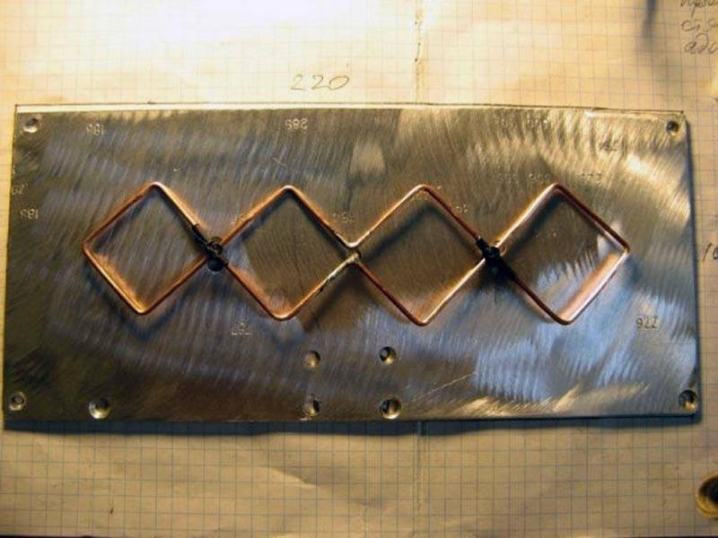 Алюминиевая пластина для антенны