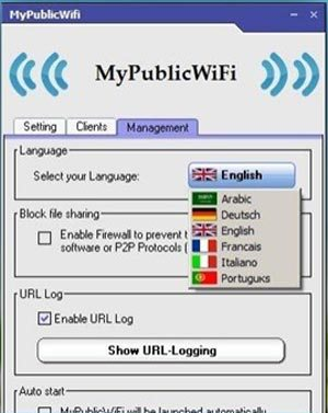 Настройка MyPublicWiFi