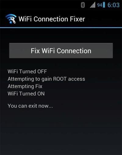 FXR WiFi fix